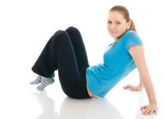 girlexercising