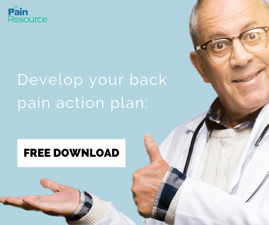 FREE Downloadable Back Pain Action Plan