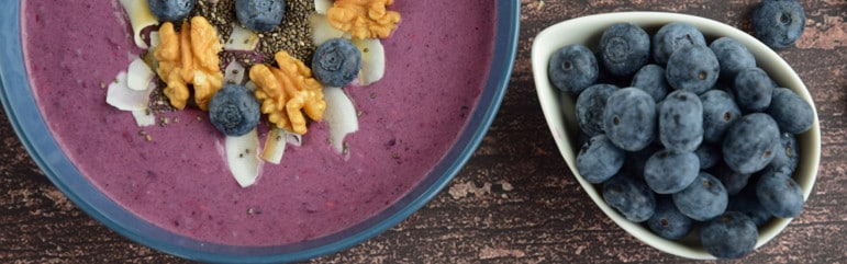 coconut-blueberry smoothie, Coconut-Blueberry Smoothie
