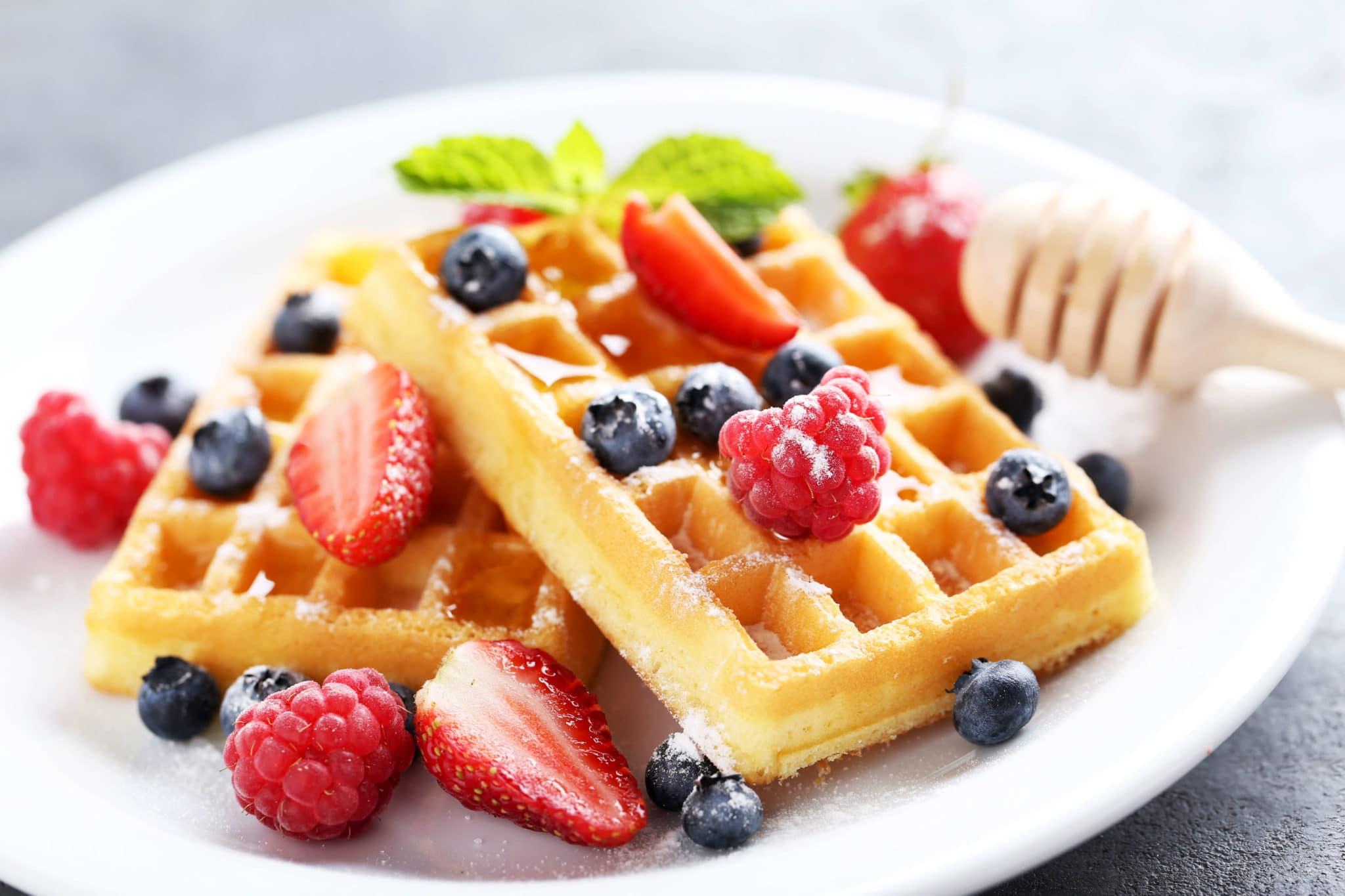 Oatmeal Pecan Waffles, Oatmeal Pecan Waffles (or Pancakes)