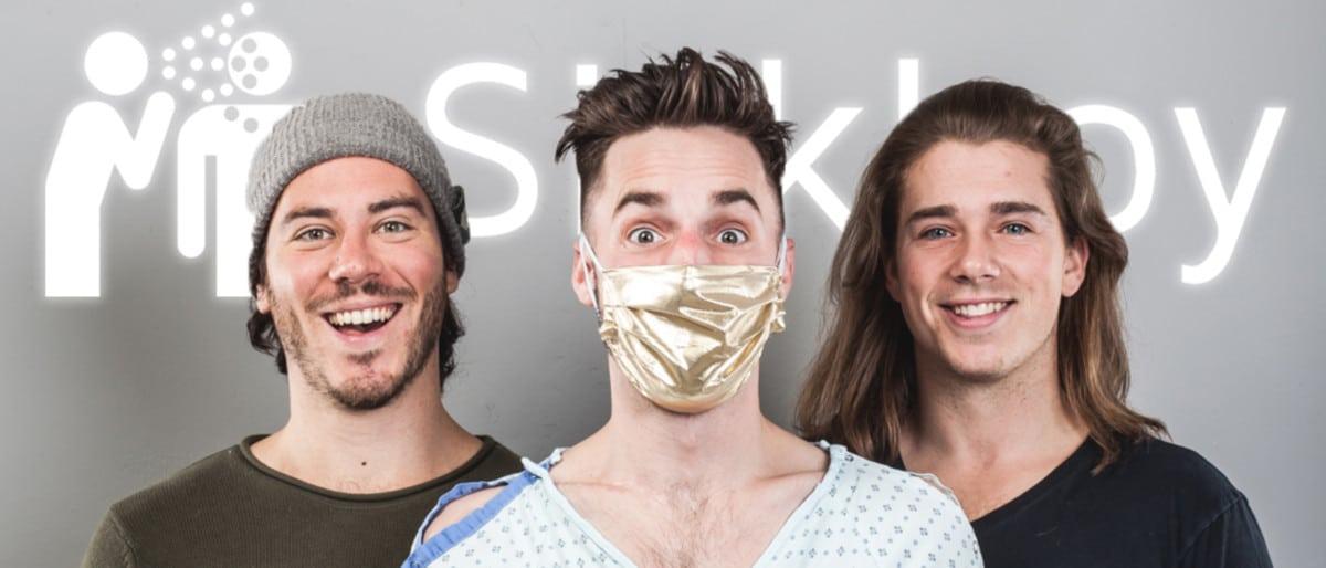 Best Podcasts on Chronic Pain Sickboy podcast hosts