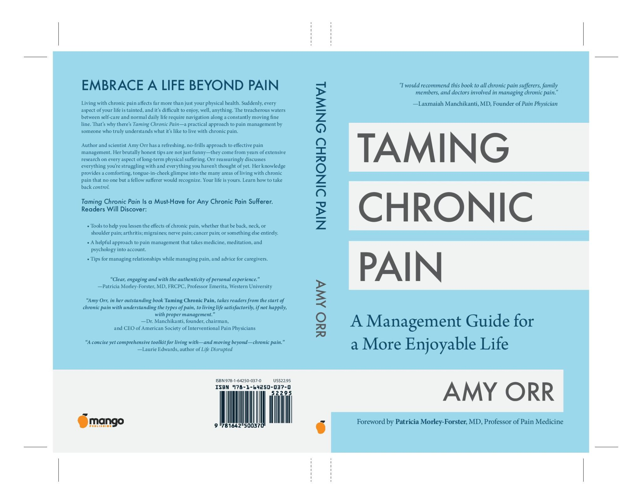 "Interview with Amy Orr, Interview With Amy Orr, Author Of ""Taming Chronic Pain"""