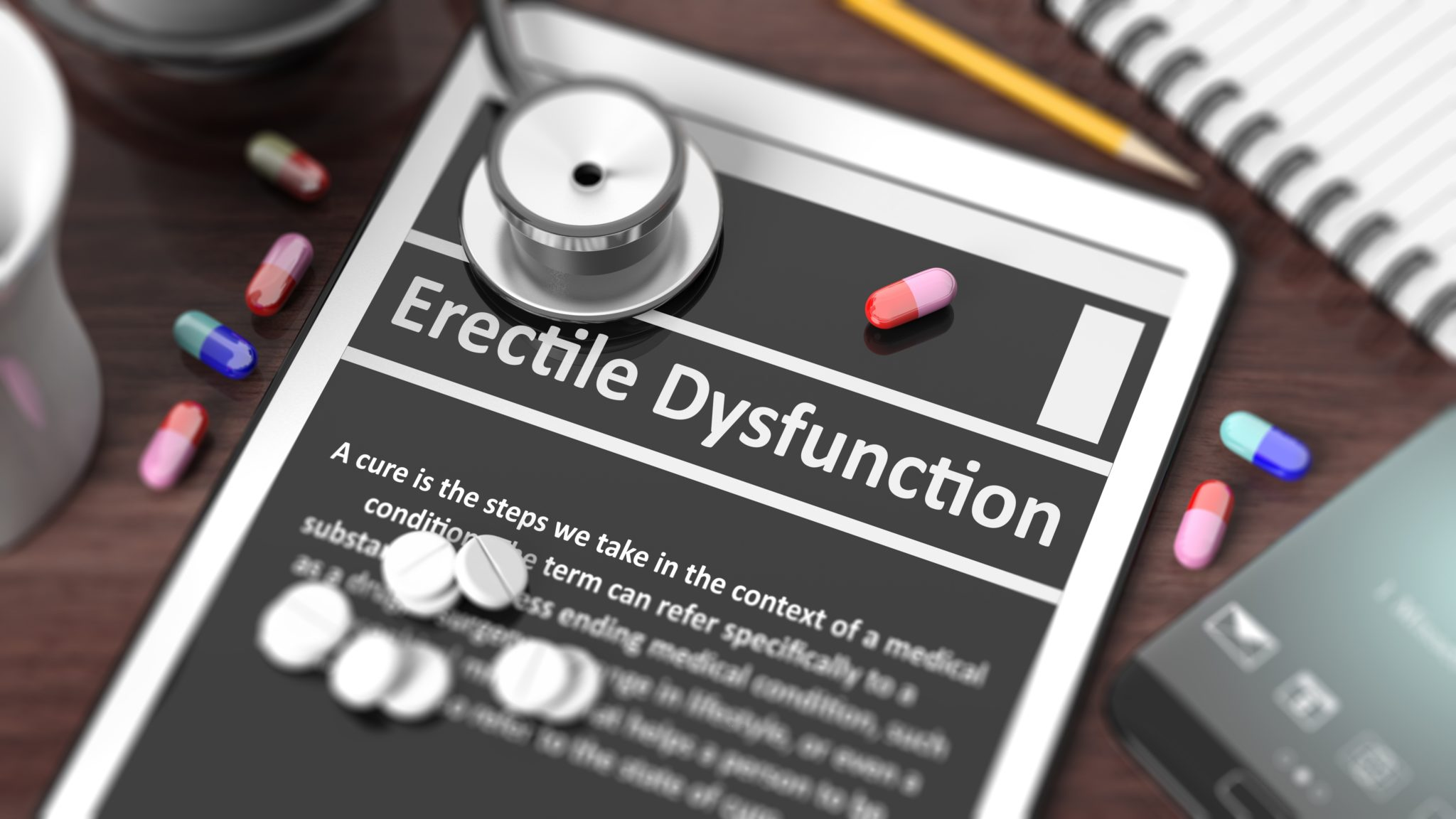 Erectile Dysfunction, Erectile Dysfunction (ED) and Painkillers