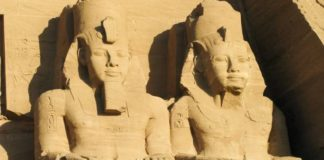 pharaohs sitting