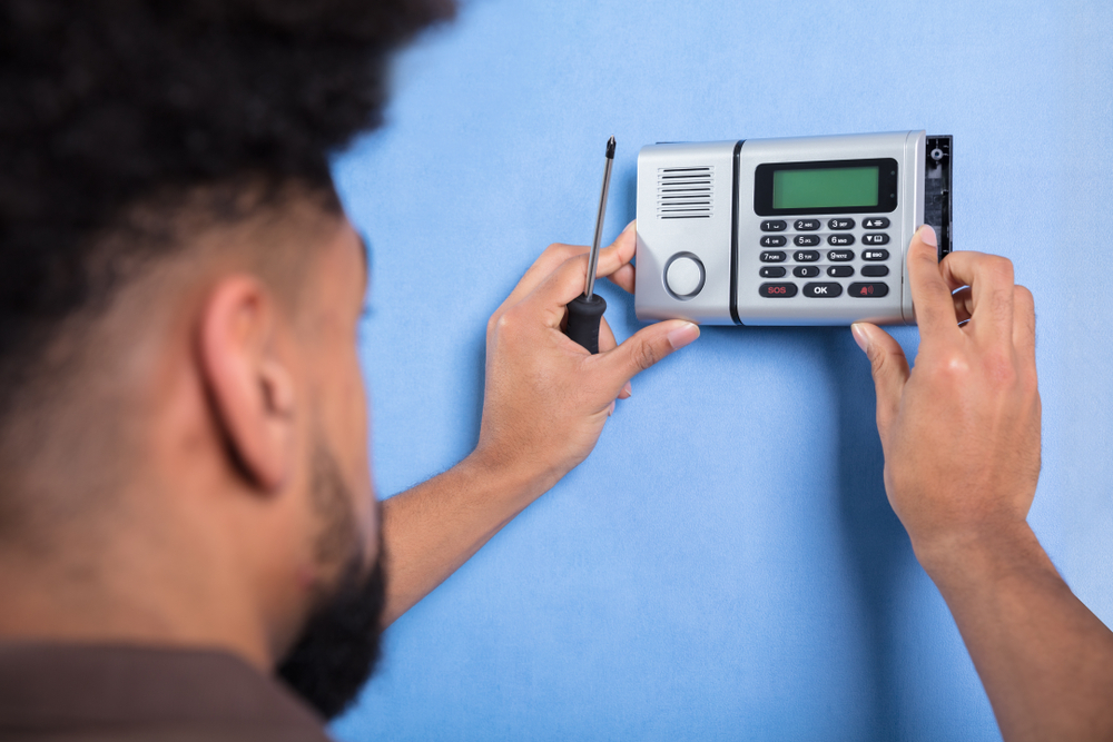 installing alarm system for elderly parent