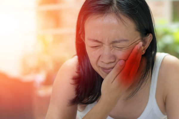 Asian woman with trigeminal neuralgia