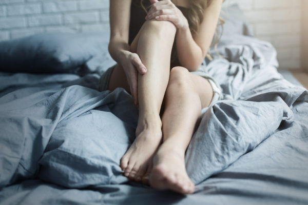 leg pain worse at night in bed