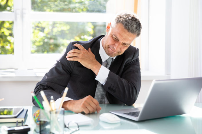 work-related shoulder pain