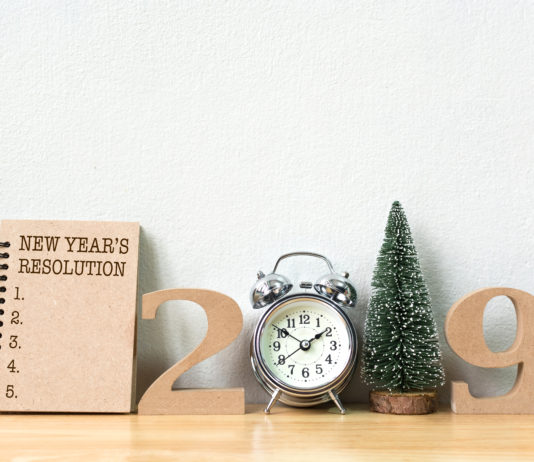New Year's resolutions for chronic pain