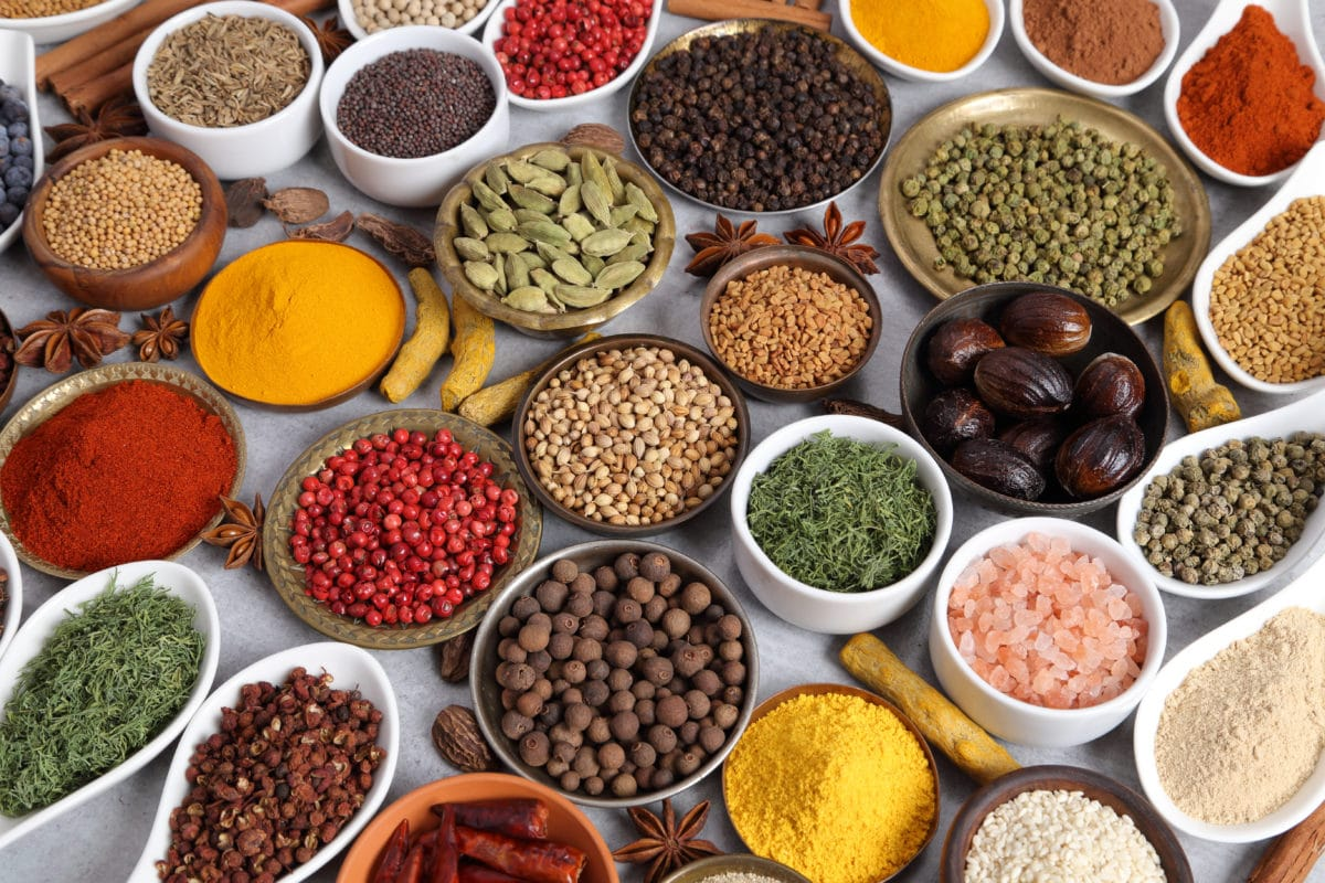 foods that fight rheumatoid arthritis variety of colorful spices