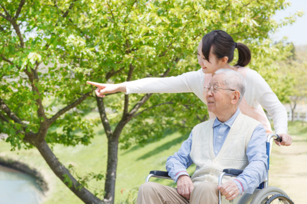 caregiver with Alzheimer's patient cope with Alzheimer's