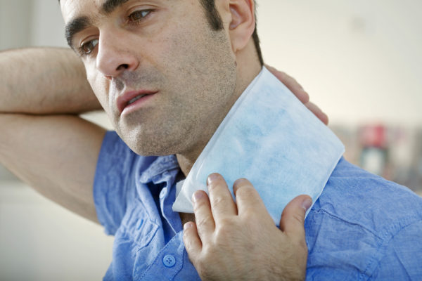 treat stiff neck pain