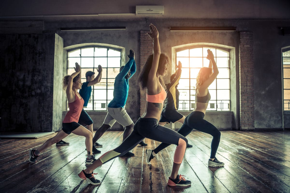Benefits of The MELT Method fitness class stretching