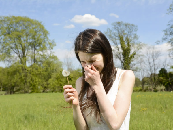 nose pain and headaches hay fever