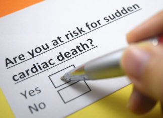 risk for sudden cardiac arrest