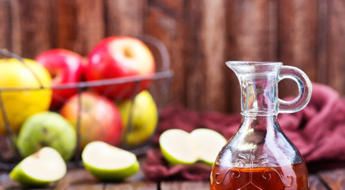 Apple cider vinegar for back pain