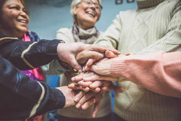 Support group improving anxiety while battling chronic pain