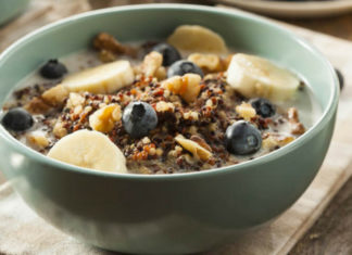 soothing quinoa cereal