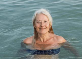 swim with catheter
