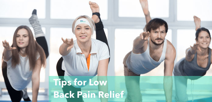 tips for low back pain relief